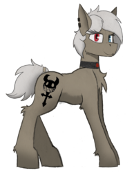 Size: 2829x3649 | Tagged: 2017 community collab, artist:wingedthoughts, derpibooru community collaboration, earth pony, heterochromia, oc, oc:cella, oc only, pony, safe, simple background, solo, transparent background