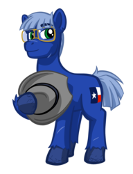 Size: 1180x1540 | Tagged: safe, artist:texasuberalles, derpibooru exclusive, oc, oc only, earth pony, pony, 2017 community collab, derpibooru community collaboration, flag, hat, looking at you, simple background, solo, transparent background