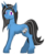Size: 3134x3813 | Tagged: safe, artist:wingedthoughts, oc, oc only, oc:silver lining, pony, unicorn, 2017 community collab, derpibooru community collaboration, cheek fluff, simple background, smiling, solo, transparent background