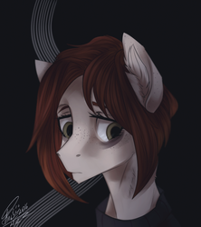 Size: 800x900 | Tagged: safe, artist:orfartina, oc, oc only, pony, bust, female, mare, portrait, solo