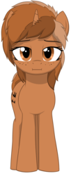 Size: 1644x4010 | Tagged: safe, artist:zippysqrl, oc, oc only, oc:sign, pony, unicorn, 2017 community collab, derpibooru community collaboration, :i, absurd resolution, female, looking at you, simple background, solo, transparent background