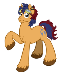 Size: 2109x2619 | Tagged: safe, oc, oc only, oc:electric spark, pony, unicorn, 2017 community collab, derpibooru community collaboration, ear piercing, earring, goggles, jewelry, looking at you, piercing, simple background, smiling, solo, transparent background