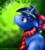 Size: 855x960 | Tagged: safe, artist:rainbowstrage, oc, oc only, pony, unicorn, clothes, flower, scarf, solo