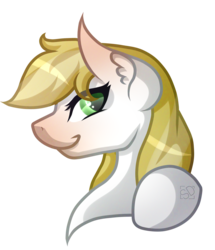 Size: 2119x2467 | Tagged: safe, artist:amazing-artsong, oc, oc only, oc:lemon cake, earth pony, pony, bust, female, hooves, mare, portrait, simple background, solo, transparent background