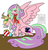 Size: 1300x1367 | Tagged: safe, artist:sapphirus, oc, oc only, jackalope, pegasus, pony, commission, female, mare, solo