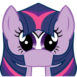 Size: 1185x1185 | Tagged: safe, edit, editor:watermelon changeling, twilight sparkle, pony, unicorn, faic, meme, smirk, solo, twiface, unitinu, wat