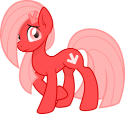 Size: 2200x1996 | Tagged: 2017 community collab, artist:arifproject, artist:monochromacat, derpibooru, derpibooru community collaboration, derpibooru ponified, earth pony, hair over one eye, looking at you, meta, oc, oc:downvote, oc only, ponified, pony, raised eyebrow, raised hoof, safe, shy, simple background, smiling, solo, standing, transparent background, vector
