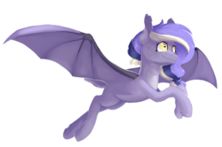 Size: 3020x2000 | Tagged: safe, artist:baldmoose, oc, oc only, bat pony, pony, art trade, simple background, solo, speedpaint, speedpaint available, transparent background