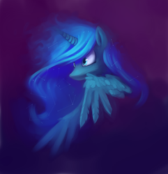 Size: 2956x3070 | Tagged: safe, artist:lilfunkman, princess luna, constellation, solo