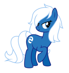 Size: 3500x3733 | Tagged: safe, artist:masem, oc, oc only, oc:edge, .ai available, browser ponies, microsoft edge, simple background, transparent background, vector