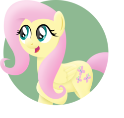Size: 3000x2851 | Tagged: safe, artist:mahaugher, fluttershy, solo
