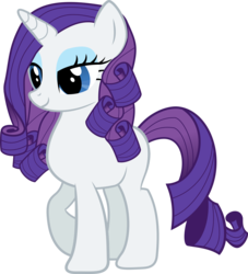 Size: 5070x5591 | Tagged: absurd res, alternate hairstyle, artist:asdflove, female, mare, pony, rarity, safe, simple background, solo, transparent background, unicorn, vector