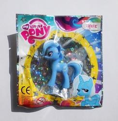 Size: 998x1024 | Tagged: safe, trixie, pony, unicorn, bedroom eyes, female, figure, irl, magazine figure, mare, photo, toy
