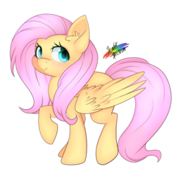 Size: 3300x3300 | Tagged: safe, artist:scarlet-spectrum, fluttershy, cute, ear fluff, female, shyabetes, simple background, solo, transparent background