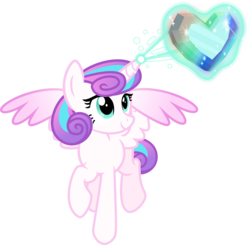 Size: 5591x5473 | Tagged: safe, artist:osipush, princess flurry heart, absurd resolution, crystal heart, magic, older, older flurry heart, raised hoof, simple background, solo, transparent background
