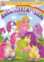 Size: 428x606 | Tagged: safe, bon bon (g1), clover (g1), patch (g1), starlight (g1), sweetheart, oc, oc:yakovlev-vad, g1, my little pony tales, bipedal, cover, dvd cover, missing pony