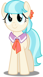 Size: 3346x6000 | Tagged: safe, artist:dashiesparkle, coco pommel, made in manehattan, .svg available, cocobetes, cute, female, ponyscape, simple background, solo, transparent background, vector