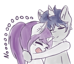 Size: 1280x1111 | Tagged: artist:wickedsilly, couple, female, male, oc, oc only, oc:sleepy head, oc:wicked silly, oc x oc, pony, safe, shipping, straight, unicorn, wickedsleepy