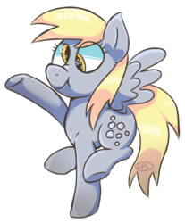 Size: 720x870 | Tagged: safe, artist:cosmic-pincel, derpy hooves, pegasus, pony, female, mare, scrunchy face, simple background, solo, starry eyes, transparent background, wingding eyes