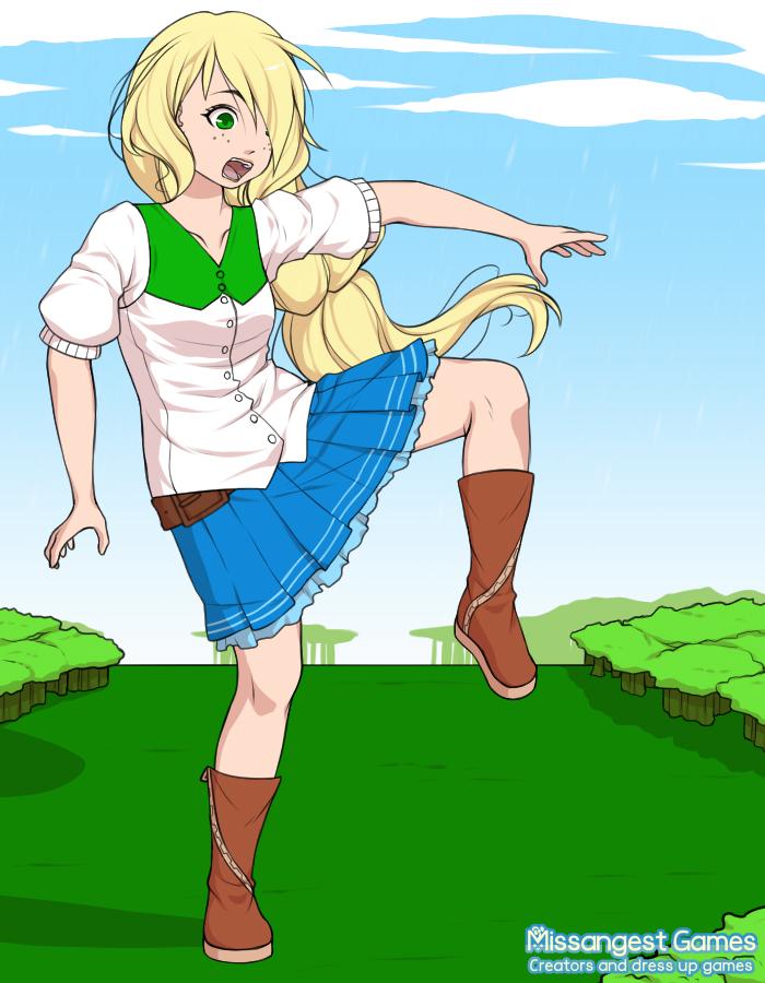 Giantess skirt