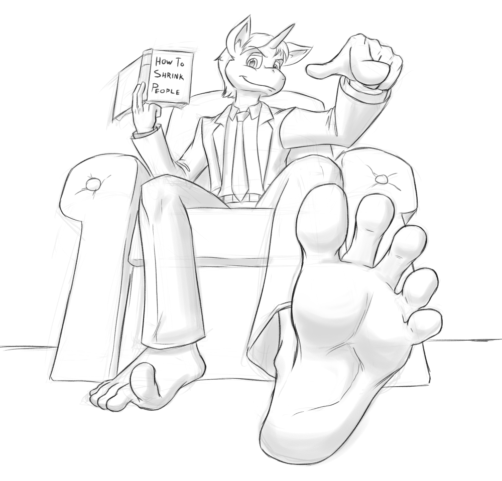 Gay Foot Fetish Tumblr in 1104907 - anthro, artist:redfeathers, barefoot, book, feet, foot