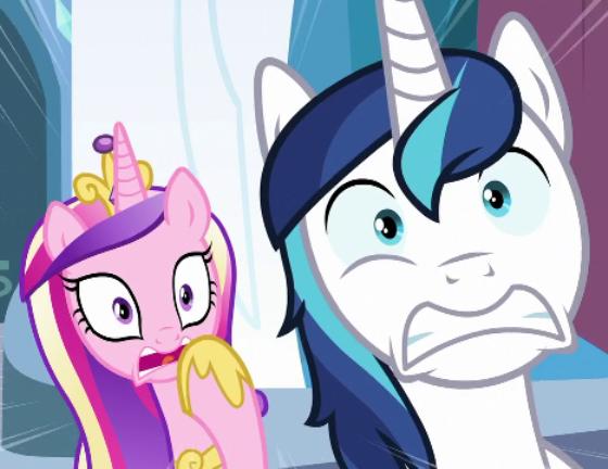 1121720 frightened princess cadance safe scared screencap
