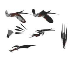 Size: 1920x1536 | Tagged: safe, artist:thehuskylord, concept, concept art, holster, melee weapon, scimitar, sword, weapon