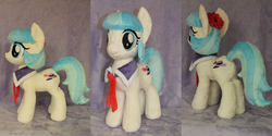 Size: 4512x2256   Tagged: safe, artist:whitedove-creations, coco pommel, commission, irl, photo, plushie, solo