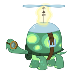 Size: 3500x3500 | Tagged: safe, artist:djdavid98, tank, tortoise, just for sidekicks, .ai available, animal, goggles, magic, male, pet, simple background, solo, transparent background, vector