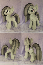 Size: 1280x1920   Tagged: safe, artist:whitedove-creations, marble pie, commission, irl, photo, plushie, solo