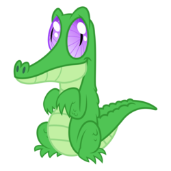 Size: 3500x3500 | Tagged: safe, artist:djdavid98, gummy, alligator, feeling pinkie keen, .ai available, .svg available, simple background, solo, standing, transparent background, vector