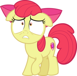 Size: 5000x4952 | Tagged: safe, artist:vaderpl, apple bloom, on your marks, .svg available, absurd resolution, cutie mark, floppy ears, inkscape, shrunken pupils, simple background, snapple bloom, solo, the cmc's cutie marks, transparent background, vector