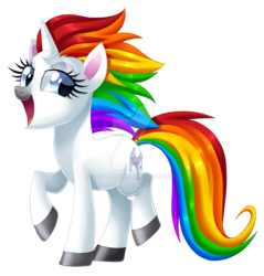 Size: 1024x1073 | Tagged: artist:centchi, commercial reference, obtrusive watermark, oc, oc only, pony, safe, soft serve, solo, squatty potty, unicorn