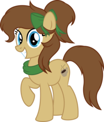 Size: 930x1085 | Tagged: artist:gingerscribbs, earth pony, female, inkscape, oc, oc:mocha latte, oc only, pony, ponyscape, safe, simple background, solo, transparent background, vector