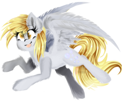 Size: 6000x5000 | Tagged: safe, artist:starartcreations, derpy hooves, pegasus, pony, absurd resolution, cute, ear fluff, female, fluffy, mare, solo