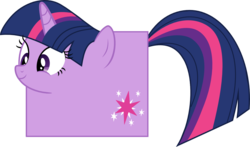 Size: 1313x773 | Tagged: artist:mortris, random, safe, simple background, square, transparent background, twilight sparkle, vector, wat