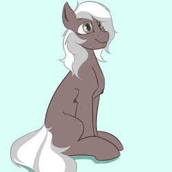 Size: 2160x2160 | Tagged: safe, artist:cold blight, derpibooru exclusive, oc, oc only, earth pony, pony, cute, sitting, smiling, solo