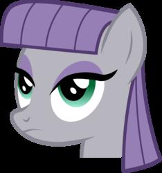 Size: 829x886 | Tagged: safe, artist:joey, maud pie, earth pony, pony, derpibooru, badge, bust, derpibooru badge, female, mare, meta, portrait, simple background, solo, transparent background