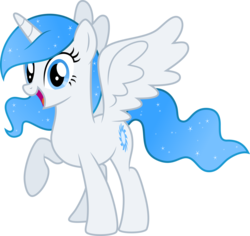 Size: 8348x7885 | Tagged: safe, artist:decprincess, oc, oc only, oc:white flare, alicorn, pony, absurd resolution, alicorn oc, horn, simple background, solo, transparent background, vector, wings