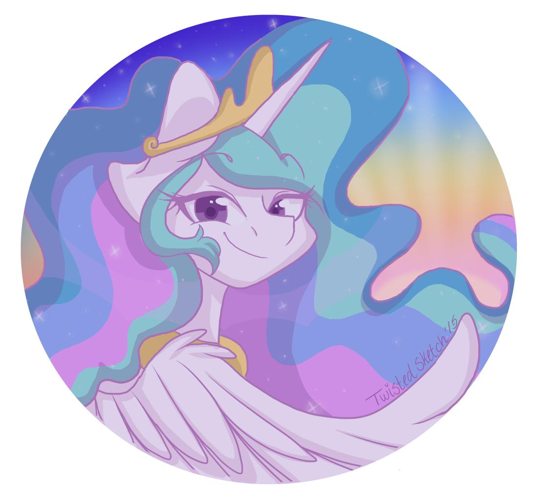 Вафельная картинка принцесса селестия