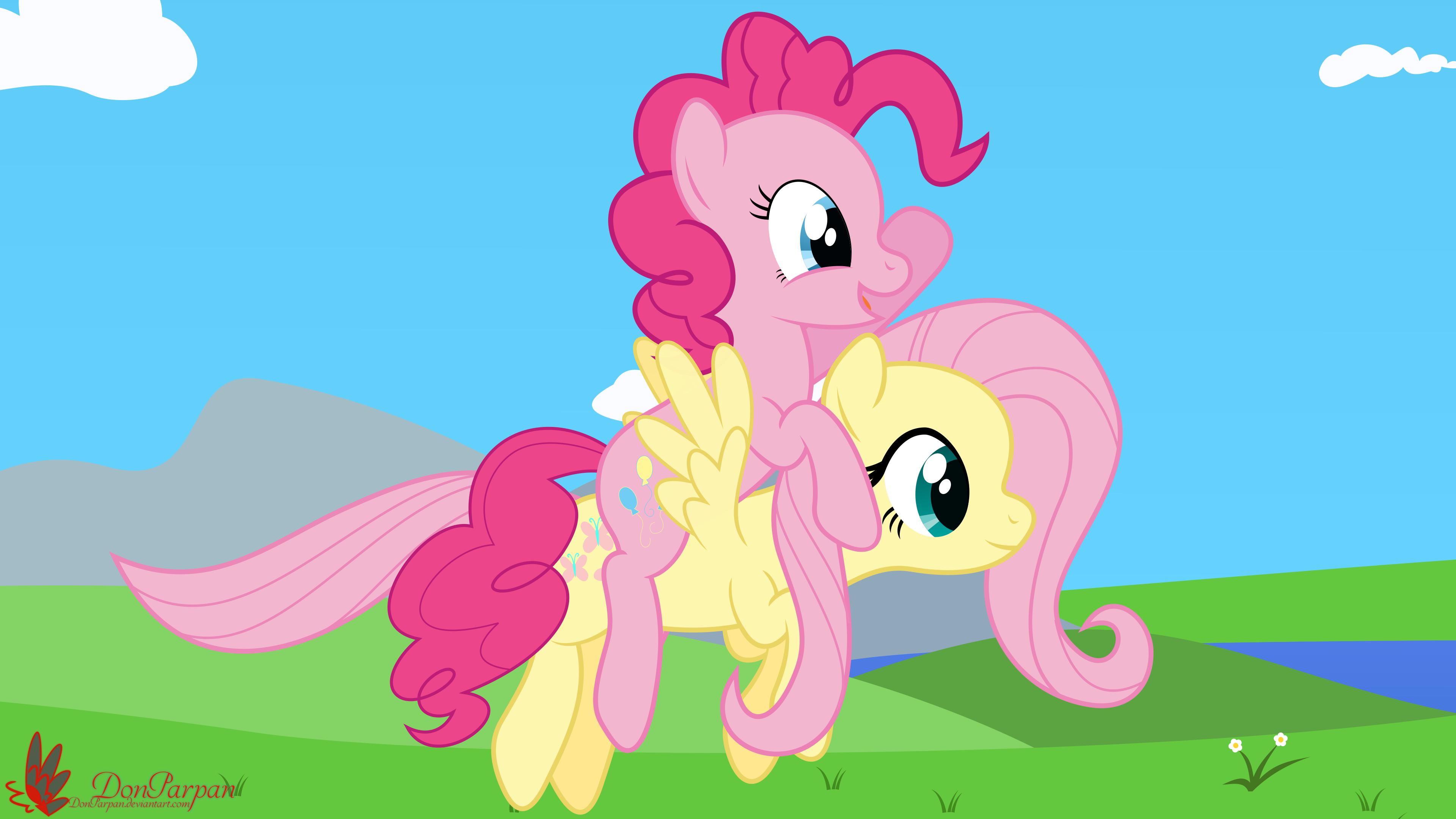 Image pinkie pie and fluttershy flying png my little pony fan -  1162029 Artist Waveywaves Flutterpie Fluttershy Flying Lesbian Pinkie Pie Safe Shipping Vector Derpibooru My Little Pony Friendship Is Magic
