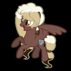 Size: 2000x2000   Tagged: safe, artist:besttubahorse, oc, oc only, oc:sweet mocha, pegasus, pony, solo