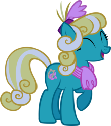 Size: 1864x2131 | Tagged: safe, artist:ironm17, honey curls, mare e. lynn, earth pony, pony, the saddle row review, background pony, female, mare, simple background, solo, transparent background, vector