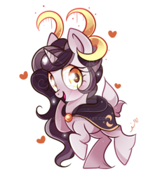 Size: 800x864 | Tagged: safe, artist:ipun, oc, oc only, oc:illuminescence, pony, unicorn, blushing, female, heart, heart eyes, looking at you, mare, open mouth, simple background, smiling, solo, transparent background, wingding eyes