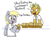 Size: 1280x937 | Tagged: safe, artist:pabbley, derpy hooves, gourmand ramsay, pegasus, pony, angry, cute, eating, female, food, gordon ramsay, mare, muffin, ponified, that pony sure does love muffins, yelling