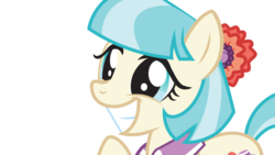 Size: 8192x4608 | Tagged: safe, artist:crimson, coco pommel, made in manehattan, .ai available, absurd resolution, cocobetes, cute, female, grin, simple background, smiling, solo, transparent background, vector
