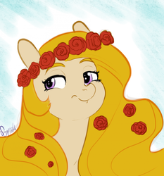 Size: 1280x1374   Tagged: safe, artist:helloiamyourfriend, oc, oc only, oc:yellowstar, fanfic:the star in yellow, 30 minute art challenge, misleading thumbnail, solo, the star in yellow