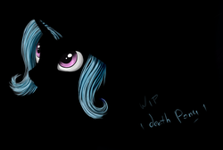 Size: 1436x965 | Tagged: safe, artist:1deathpony1, color edit, edit, trixie, pony, unicorn, colored, dark, eye, eyes, female, mare, solo, wip