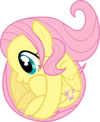 Size: 3000x3679 | Tagged: safe, artist:uxyd, fluttershy, ball, cute, flutterball, meme, rariball, shyabetes, simple background, solo, transparent background, vector