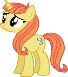 Size: 2384x2688 | Tagged: safe, artist:ironm17, citrus blush, pony, unicorn, background pony, female, mare, simple background, solo, transparent background, vector